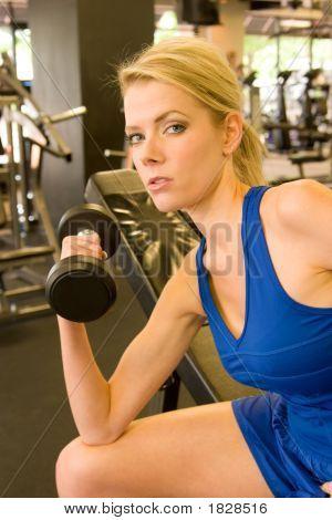 Mujer pesista 7