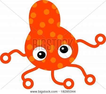 Orange Spotty Germ