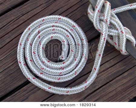 White Sailor'S Rope