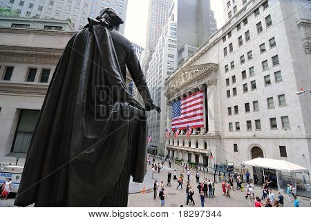 Federal Hall And Wall Street