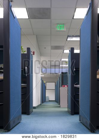 Row Of Cubicles