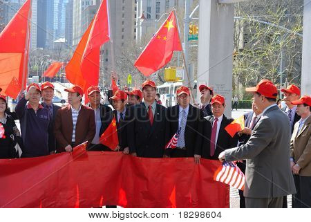 Supporters for U.S.-Chinese Relations