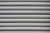 The Texture Of The Shutter Door Or Window In Light Gray Color poster