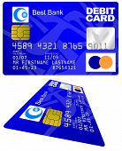 pic of debit card  - Real - JPG