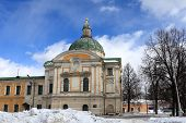 picture of olden days  - Travel palace in winter - JPG