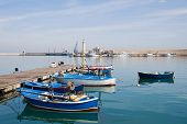 Panoramic view of Molfetta. Apulia.