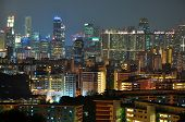 image of faber  - Singapore cityscape seen from Mount Faber - JPG
