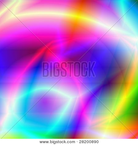 Colorful Abstract Composition Background
