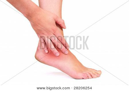 Injured Ankle