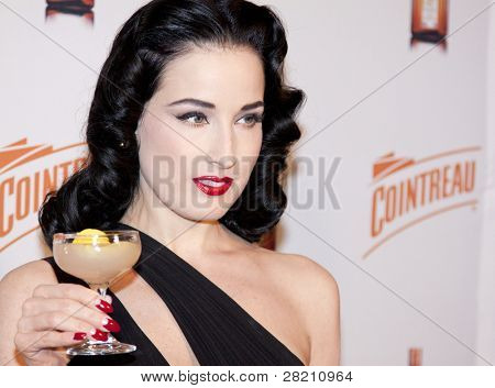 Dita Von Teese Launches
