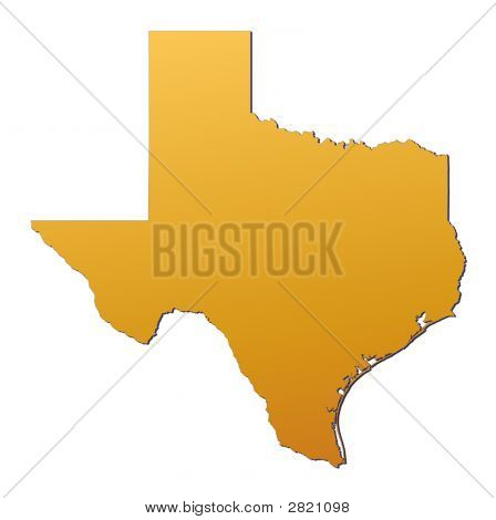 Texas (Usa) Map
