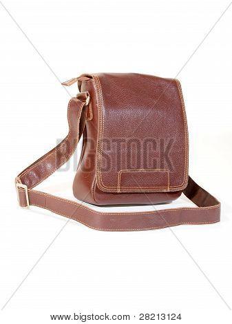 Leather Men's Satchel