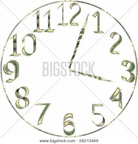 Dial de horas de dólares