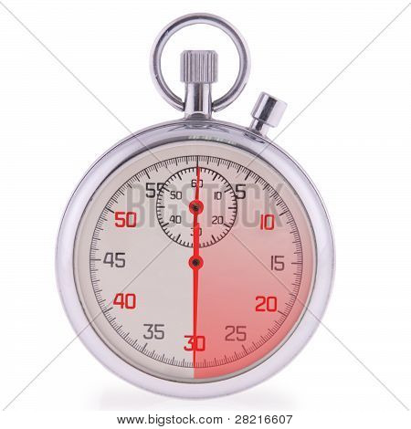 Stopwatch. 30 Seconds.