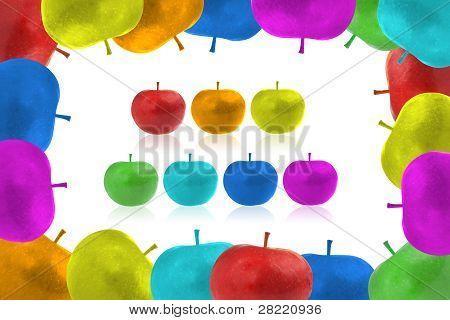 Framework From Color Apples