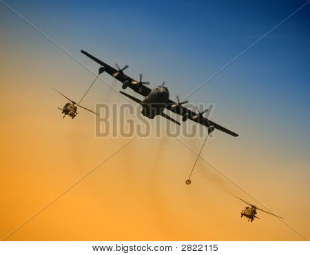 Aerial Refueling Operation