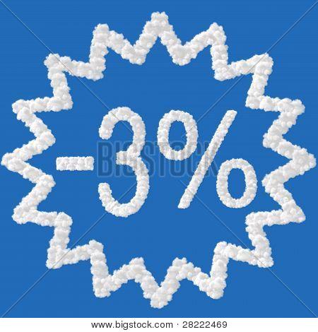 Discount - 3 Percent