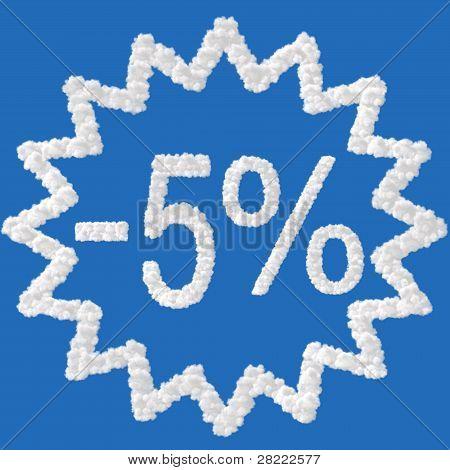 Discount - 5 Percent