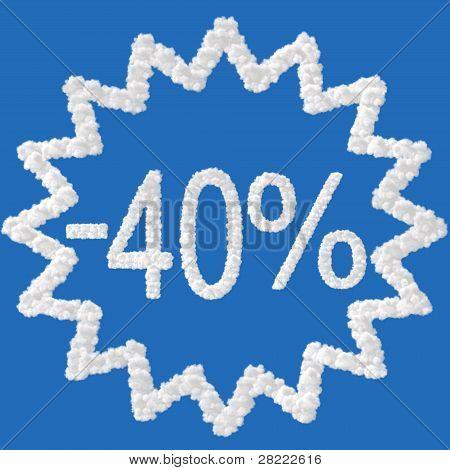 Discount - 40 Percent