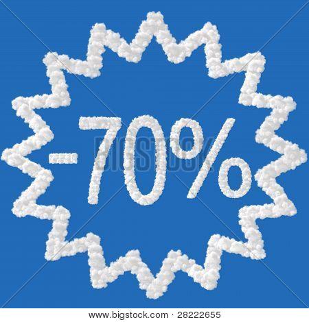 Discount - 70 Percent