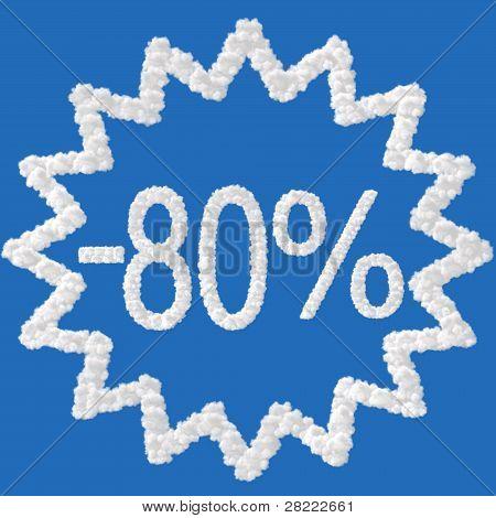 Discount - 80 Percent