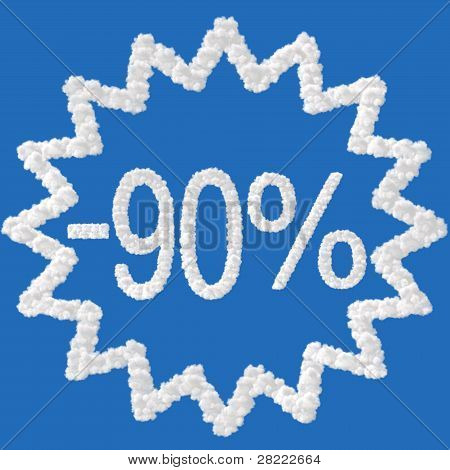Discount - 90 Percent