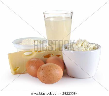 Ovo, queijo e produtos lácteos