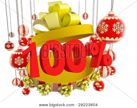 Christmas Gift One Hundred Per Cent Discount