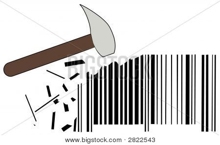 Hammer With Barcode