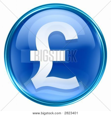 Pound Icon Blue