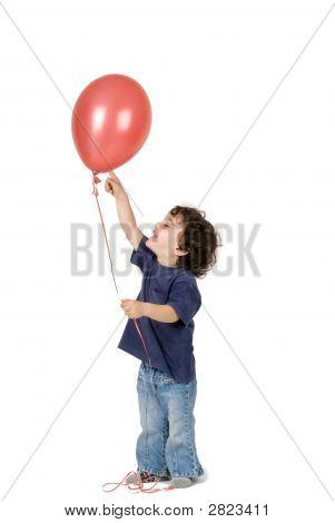 Little Boy Red Balloon