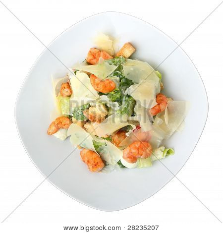 Portion Of Caesar Salad