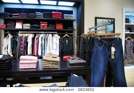 Upper Clothes In Shop