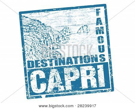 Capri Stamp