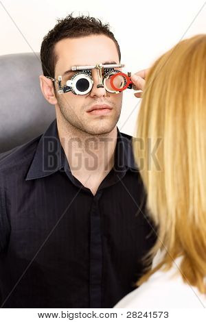 Trial Frame For Eye Testing