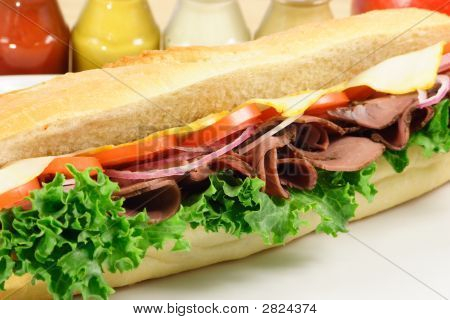 Big Roastbeef Sandwich