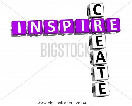 3D Inspire Create Crossword
