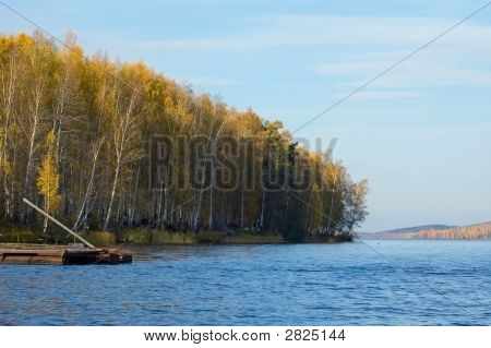 Autumn Cost Of Lake