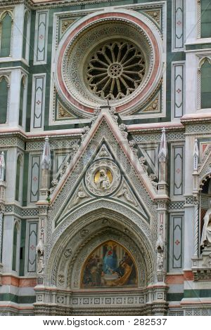 The Baptistry, Florence, Italy, Europe