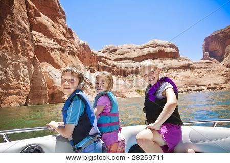 Middle-Aged Woman Wake boarding