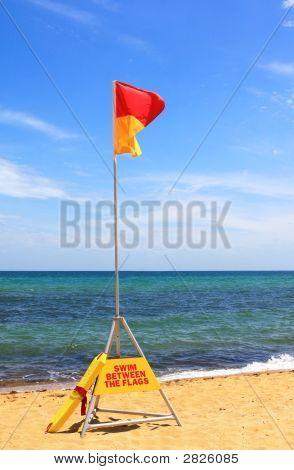 Swim Between The Flags