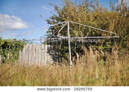Backyard Clothesline