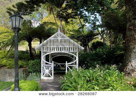 Pavillon In The Botancial Garden In Wellington