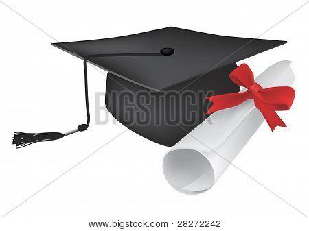 Graduate cup diploma