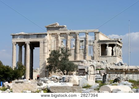 The Temple Of Erechtheum