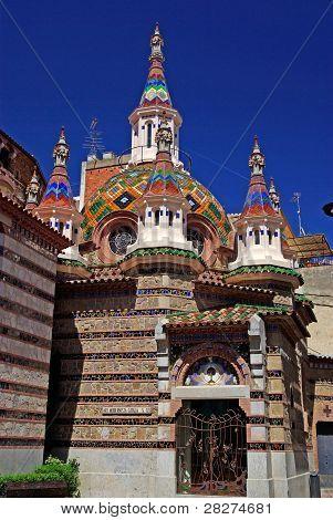 Parish Church Of Sant Roma. Lloret De Mar, Costa Brava, Spain.