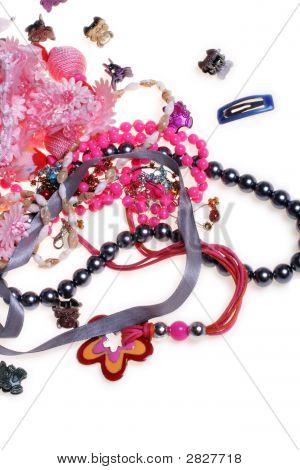 Girl'S Plastic Jewelry