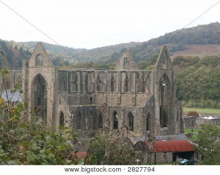 Tintern Abbey, Wye Valley, Uk.
