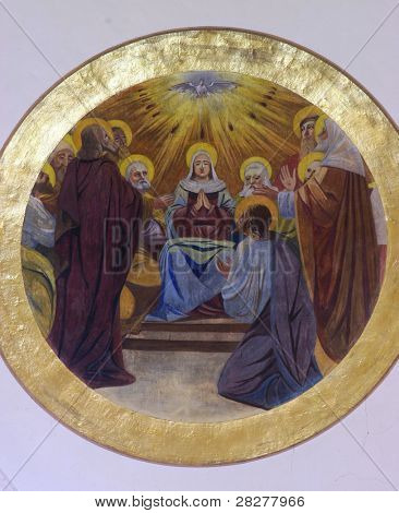 The Descent of the Holy Spirit
