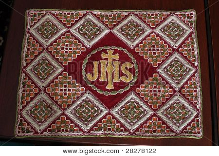 Embroidered Church vestments